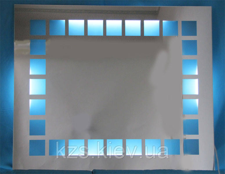 Зеркало с подсветкой декоративное