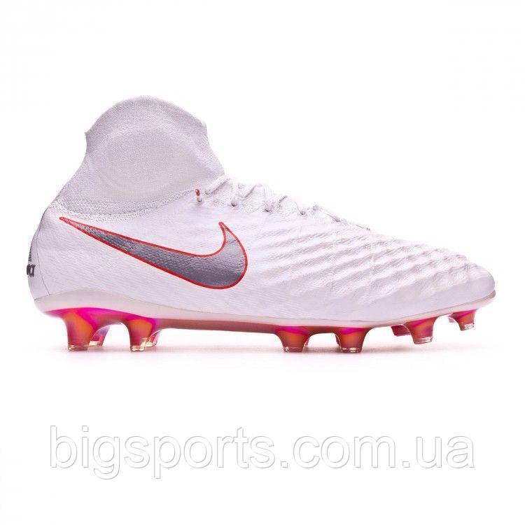 Бутсы футбольные муж. Nike Obra 2 Elite DF FG (арт. AH7301-107)
