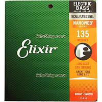 Струны Elixir 14102+15435 Nanoweb 5-String Heavy 50-135, фото 1