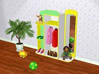 Стенка детская игровая Design Service Уголок Ряжения (654)