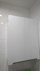 Шкаф навесной для ванной комнаты Симпл-Металлик 60-02 ПИК, фото 3