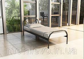 Односпальная металлическая кровать РЕЛАКС ТМ Метакам, фото 2