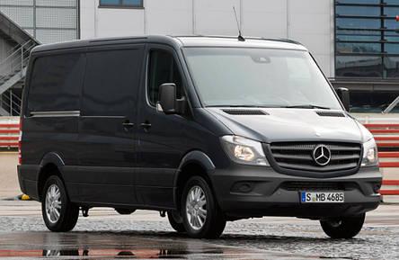 Передний бампер Mercedes Sprinter 2013- без отв. ПТФ, без отв. омывателя (FPS), фото 2