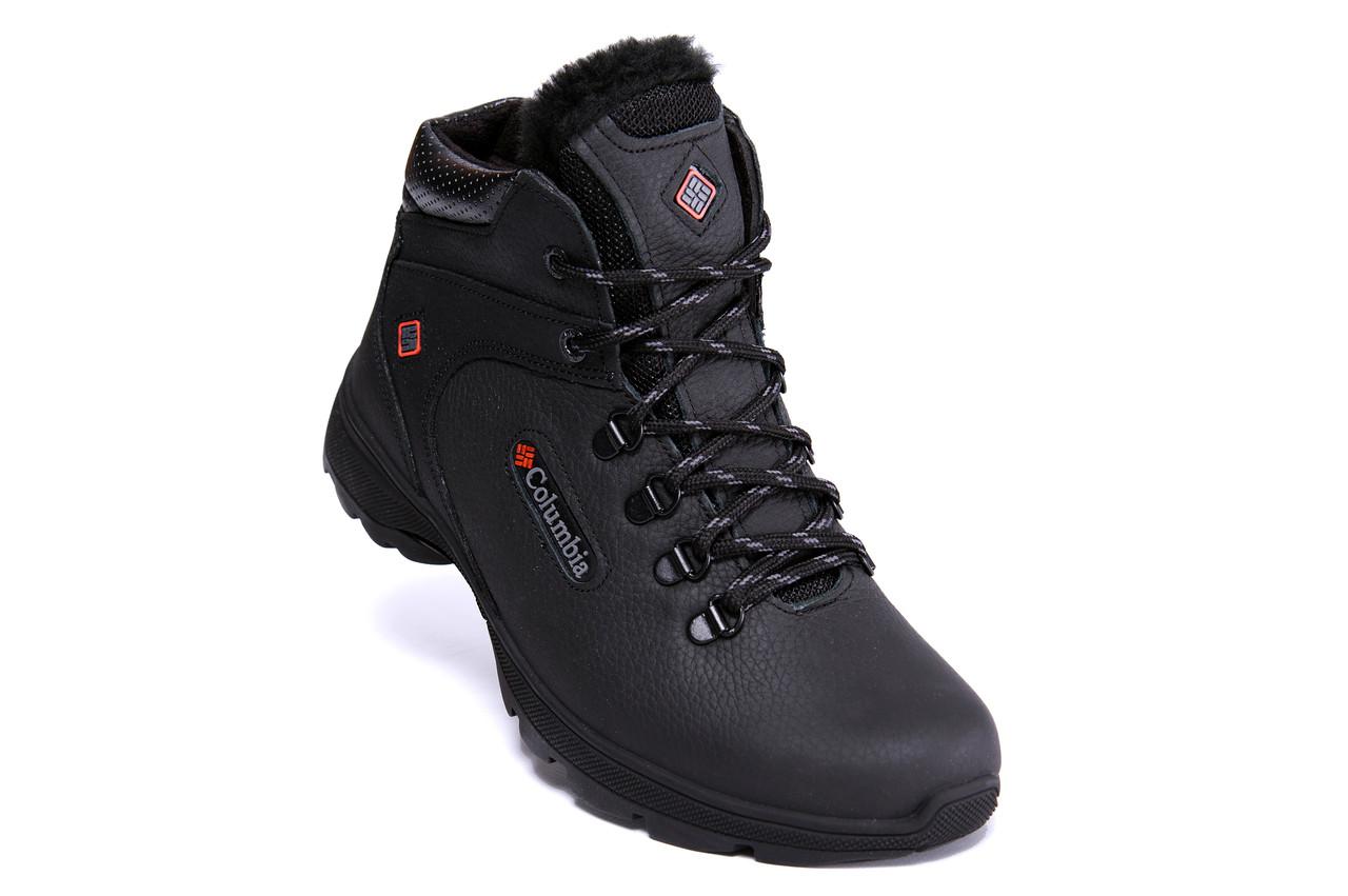 Мужские кожаные зимние ботинки Columbia Track Control 5