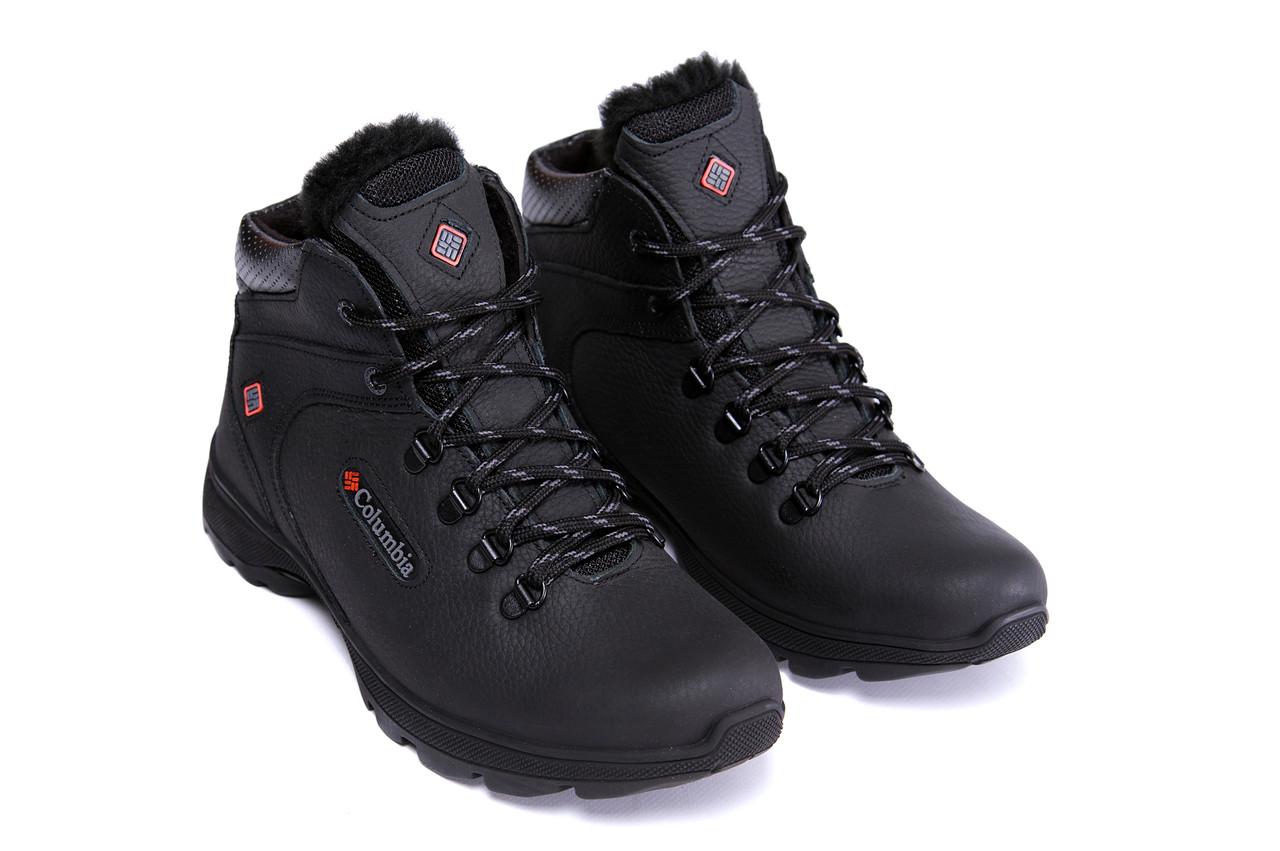 Мужские кожаные зимние ботинки Columbia Track Control 2