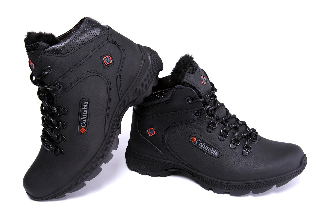 Мужские кожаные зимние ботинки Columbia Track Control 3
