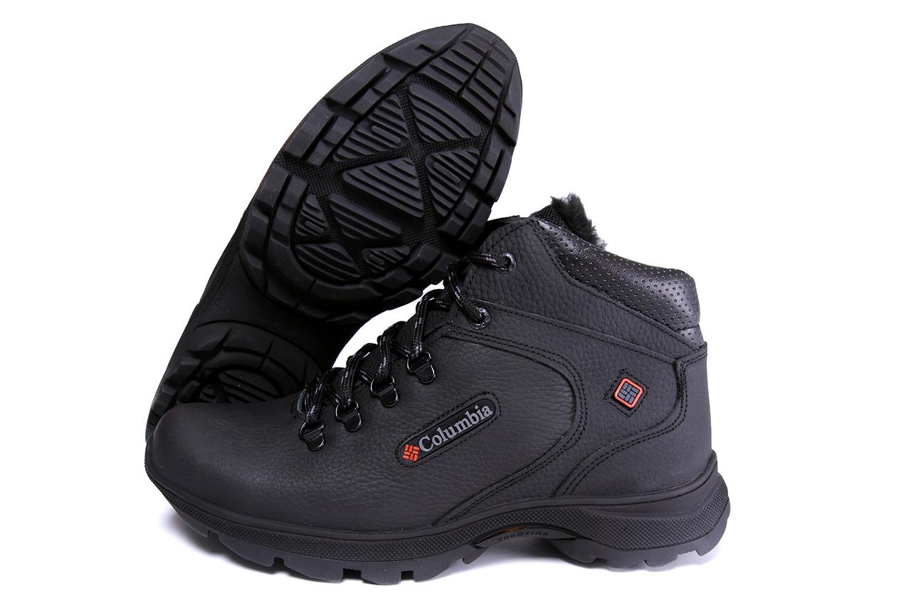 Мужские кожаные зимние ботинки Columbia Track Control 4