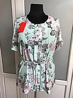 Летняя блуза больших размеров, фото 1