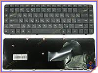 Клавиатура HP Compaq G62 ( RU Black ). Оригинальная, Русская. Цвет Черный.