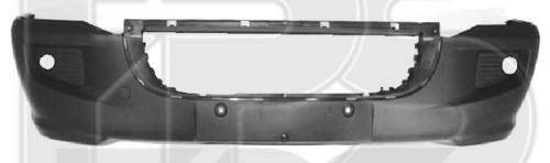 Передний бампер VW Crafter (06-11) c отв. ПТФ, без решетки (FPS)