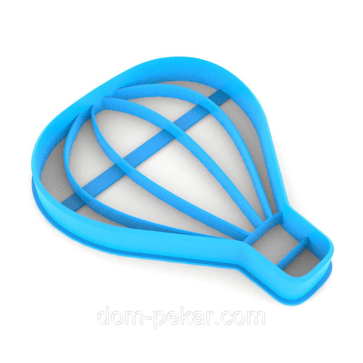 Вырубка для пряников Воздушный шар 8*6,5 см (3D)