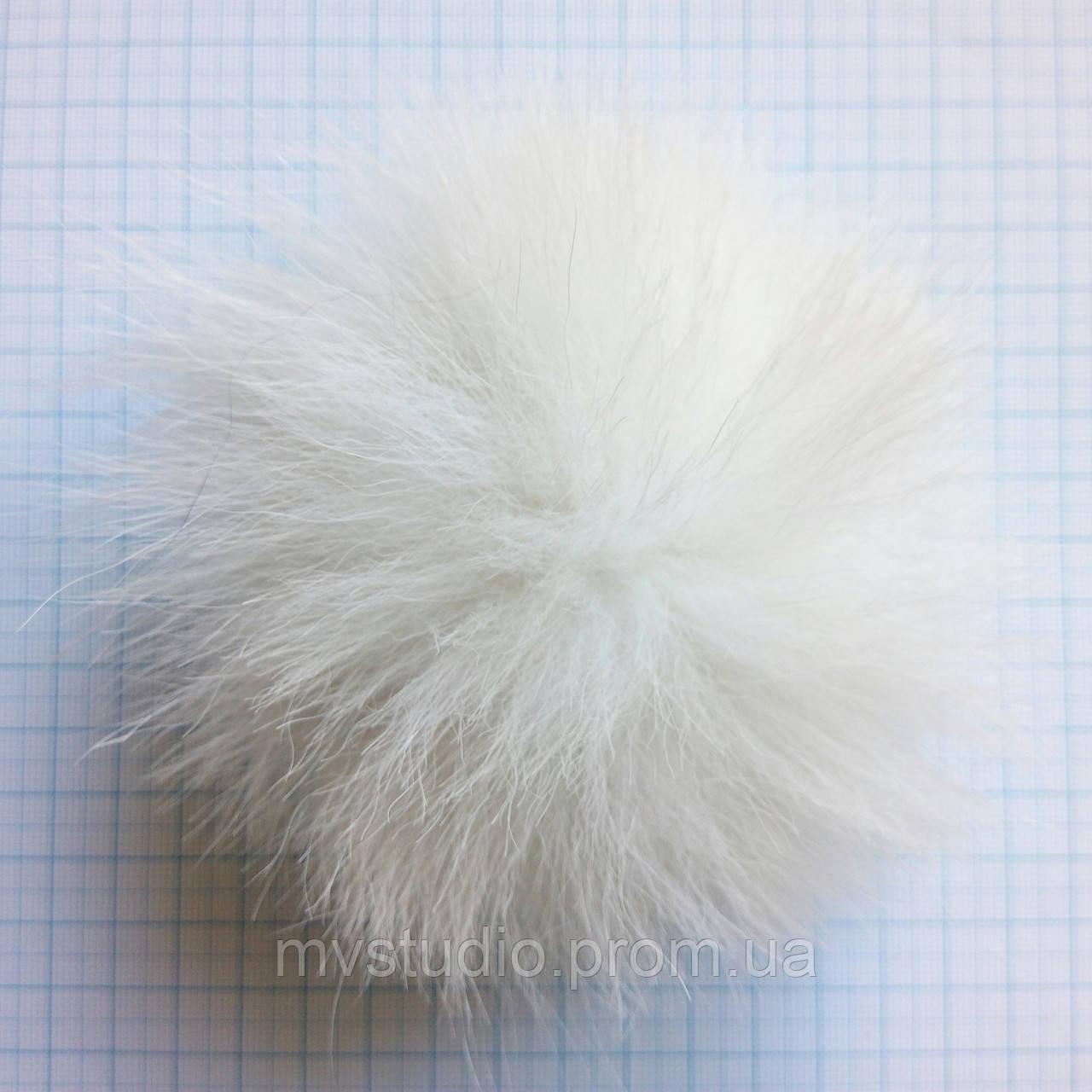Помпон из натурального меха песца - 12 см
