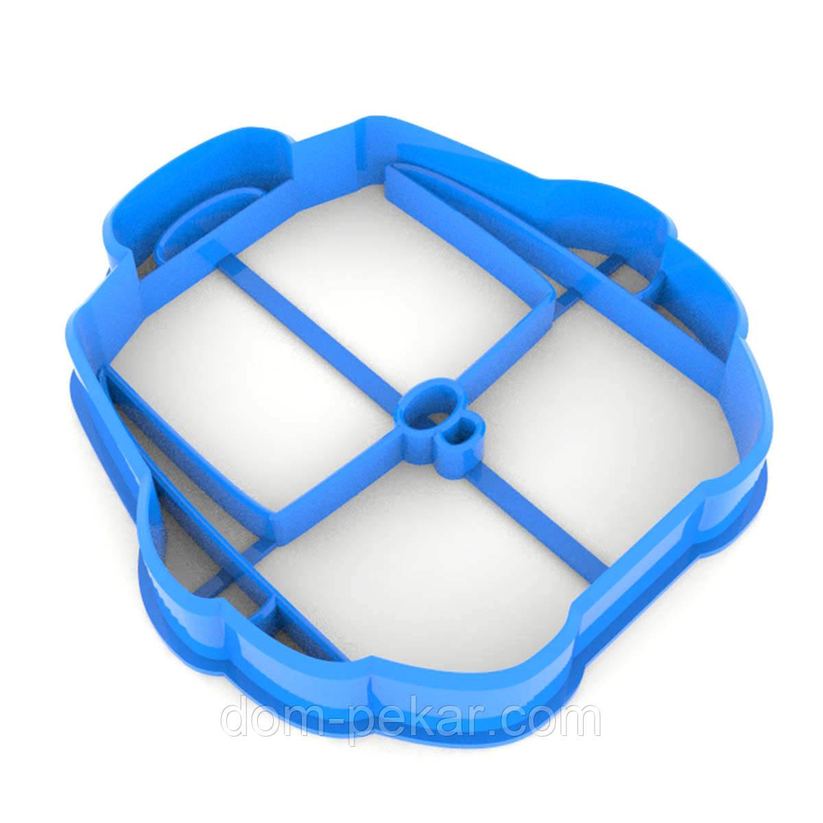 Вырубка для пряников Школьный рюкзак 7*6,7 см (3D)