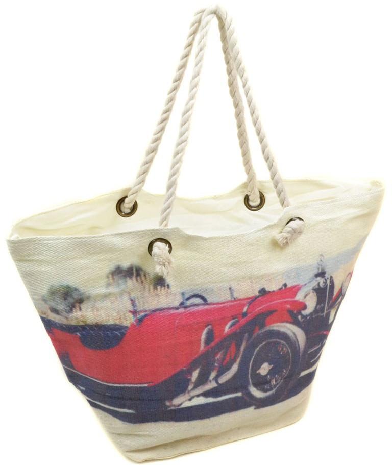 60fa48701293 Женская пляжная сумка PC 9140-1 red печать пляжные сумки, пляжные корзинки  недорого Одесса 7 км
