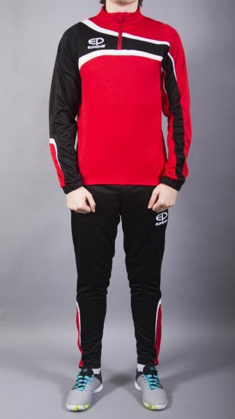 Костюм тренировочный Europaw TeamLine красно-черный