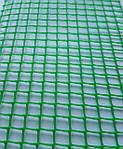Сетка пластиковая декоративная Клевер Д 10 Зеленая, фото 2