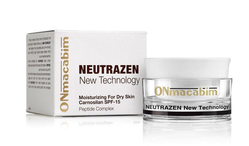 Дневной увлажняющий крем для сухой и нормальной кожи Onmacabim Neutrazen Carnosilan Moisturizing SPF15