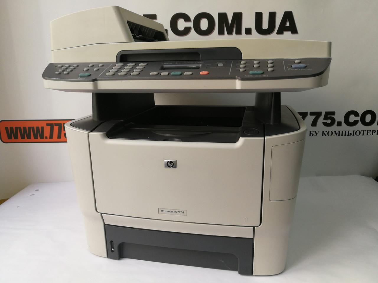 МФУ HP LaserJet M2727nf, лазерная печать