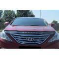 Дефлектор капота, мухобойка Hyundai Sonata (YF) / i45 2010– VIP