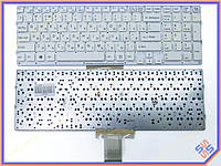 Клавиатура SONY VPC-EB Series ( RU White без рамки). Оригинальная клавиатура. Русская раскладка.