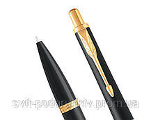 Ручка шариковая Parker Urban 17 Muted Black GT BP 30 032, фото 2