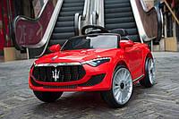 Детский электромобиль КХ 577 Maserati, два мотора, MP3, дитячий електромобіль, красный