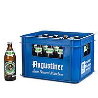 "Пиво світле ""Аугустінер Хель"" Augustiner Hell 0,5л*20 шт (Ящик)"