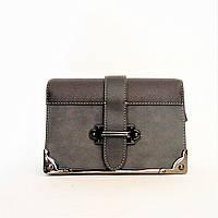 Женская сумочка DAVID DJONES серого цвета RRU-012888, фото 1