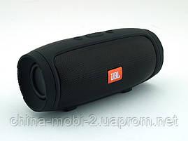 JBL Charge 3+ mini E3 (E4) 6W копия, Bluetooth колонка с FM MP3, black, фото 3