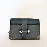 Женская сумочка DAVID DJONES голубого цвета RRU-012809, фото 1