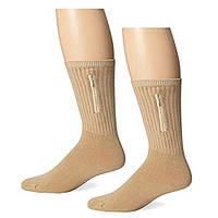 Носки с секретным карманом Travelon Security Socks, Large, Tan