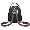 Рюкзак женский сумка Belladonna Черный, фото 3