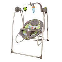 Кресло-качалка коричневая питание от сети и батареек CARRELLO Molle  CRL-10301