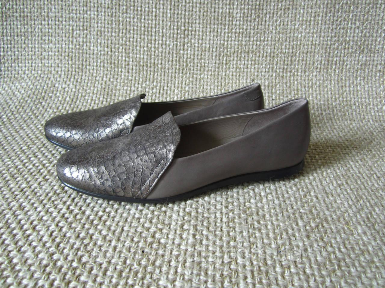 Балетки туфлі шкіряні ecco Touch Ballerina 271583 38  продажа d1d8328748b46