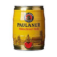 """Пиво світле """"Пауланер Хель"""" Paulaner Hell 5 л, Німеччина, Баварія"""