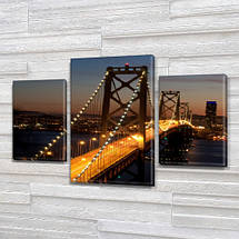 Модульные картины, на ПВХ ткани, 45х70 см, (30x20-2/45x25), фото 3
