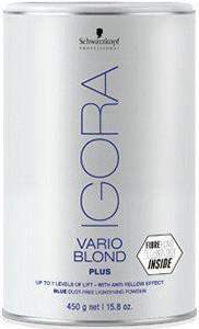 Акция !!! IGORA Vario Blond Plus Беспылевой порошок, осветление до 7 уровней (голубой) 450 г
