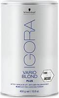 Акция !!! IGORA Vario Blond Plus Беспылевой порошок, освещение до 7 уровней (голубой) 450 г