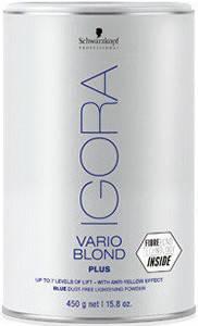 Акция !!! IGORA Vario Blond Plus Беспылевой порошок, осветление до 7 уровней (голубой) 450 г, фото 2