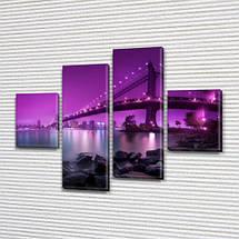 Модульные триптих картины, на ПВХ ткани, 65x80 см, (25x18-2/55х18-2), фото 3