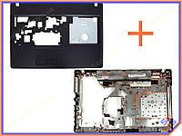 Корпус для ноутбука Lenovo G570, G575 с HDMI Plastic (Нижняя часть в сборе: крышка клавиатуры + нижнее корыто, (62560+62550))