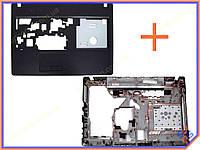 Корпус Lenovo G575 без HDMI (Нижняя часть в сборе: крышка клавиатуры + нижнее корыто) Plastic.
