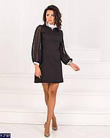 59145880f6f Купить Женское платье с белым воротником и манжетами в магазине ...