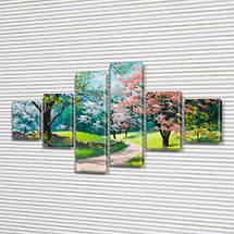 Модульные картины, на ПВХ ткани, 70x120 см, (25x18-2/35х18-2/65x18-2), фото 3