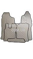Автомобильные ковры экокожа SCANIA R c 2009- автомат серого цвета Т01