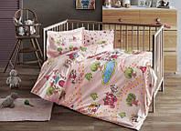 Детское постельное белье в кроватку TAC BEBEK DISNEY Princess pembe