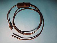 Камера наблюдения эндоскоп 5,5 мм с USB кабелем 1 метр