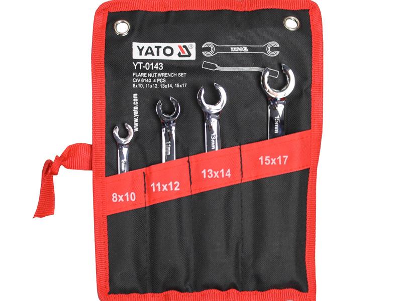 Набір розрізних ключів для гальмівних трубок Yato YT-0143