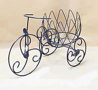 Подставка для цветов Велосипед 1 мини Тюльпан.