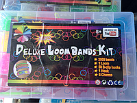 Набор резинок 2000 шт для плетения браслетов Rainbow Loom bands + оригинальный станок в подарок*!!!
